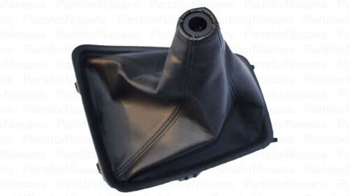 New Genuine Nissan Leather Shift Boot Console - Nissan R32 GTR -