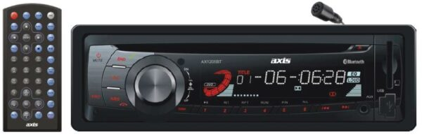 Stereo Head Unit   AX1505BT   Single Din DVD Bluetooth