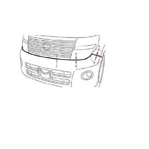 Front Bumper Bar Bracket RHS   Nissan Elgrand E51 S2