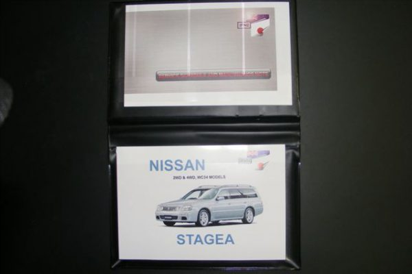 Owners Manual - Nissan Stagea C34