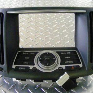 Stereo Fascia - Infiniti G37 (Non SAT NAV)