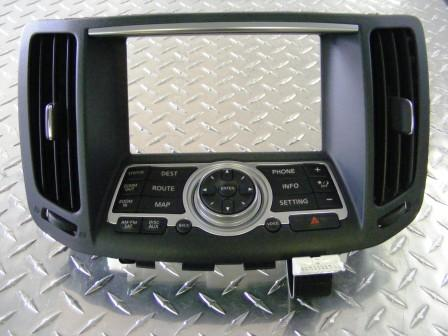 Stereo Fascia - Infiniti G37 (SAT NAV)