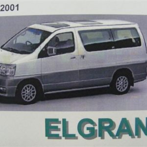 Owners Manual - Nissan Elgrand E50