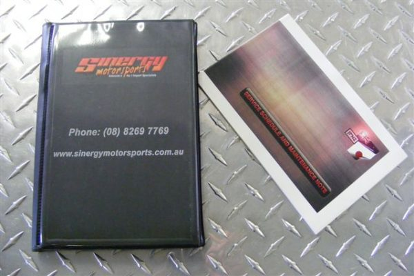 Owners Manual Wallet with Service Booklet - All