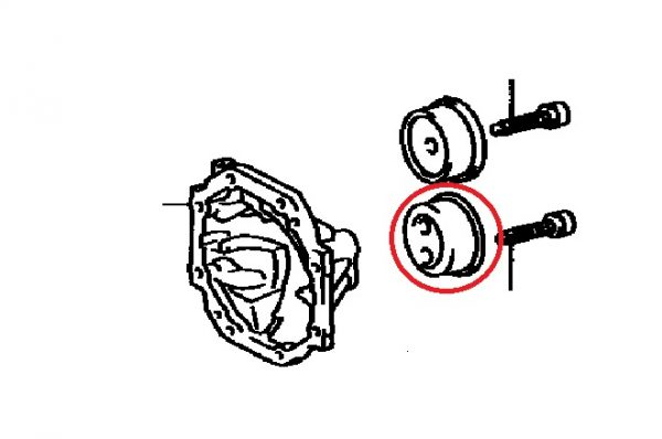 Rear Diff Mounting Bush - Toyota Chaser