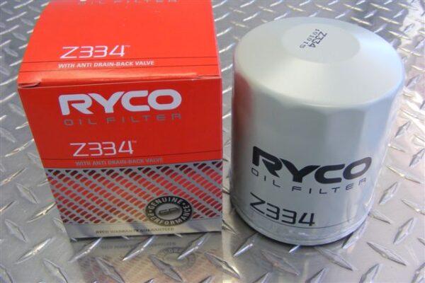 Oil filter - Z334 - Toyota Surf / Prado 3.0ltr