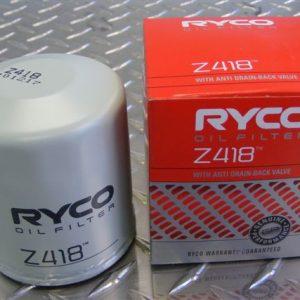 Oil filter - Z418 - Toyota Aristo