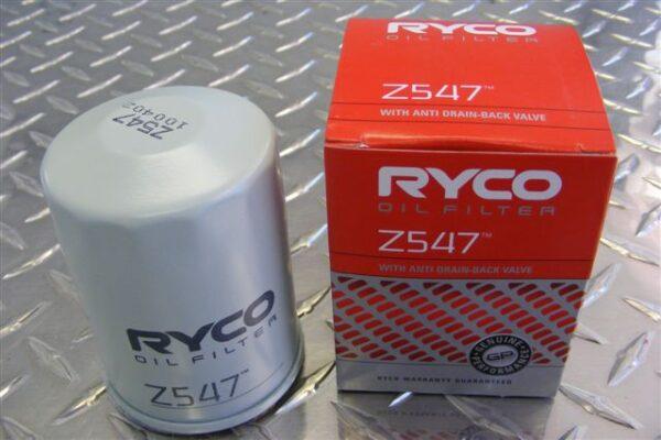 Oil filter - Z547 - Nissan Elgrand E51 3.5ltr
