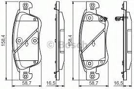 Brake Pads - Nissan Skyline V36 Front