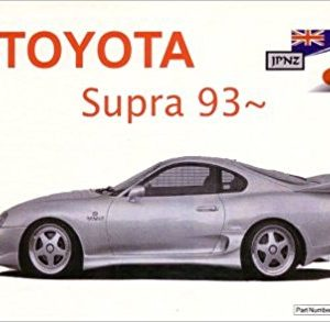 Owners Manual - Toyota Supra JZA80