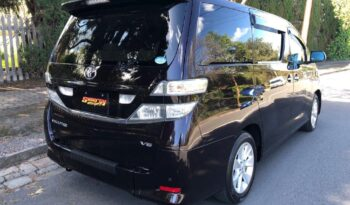 TOYOTA VELLFIRE WHEELCHAIR full